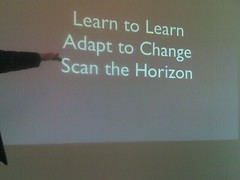 Learn, Adapt, Scan, Point