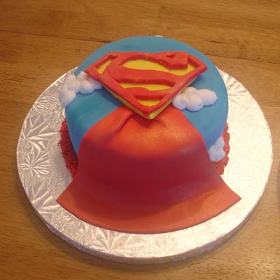 Superman Cake Flickr - Photo Sharing!