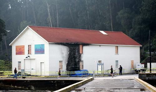 warming hut, fire, damage, crissy field IMG_7637-1