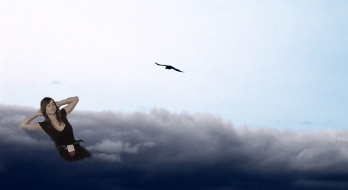 Veronica in the sky