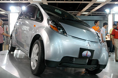 automobile, mitsubishi i miev, mitsubishi i, vehicle, automotive design, auto show, mitsubishi, city car, land vehicle, electric vehicle,