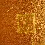 Univ of Mich Binding Imprint