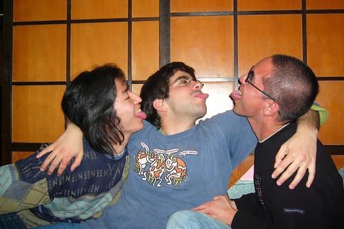 YuXuan, Gon y Rober