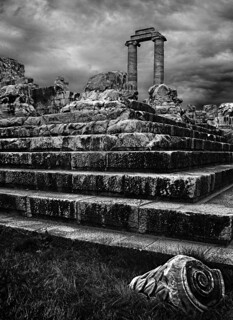 turkey, temple of apollo steps