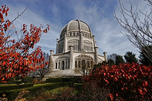 Bahai Temple by James Neeley