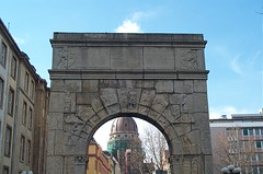 Christ Church through an Arch...