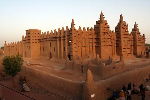 trip sunrise mosque mali timbuktu djenne