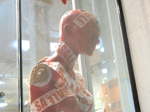 sale mannequin by The Consumerist