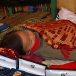 Sleeping boy - Luang Prabang, Laos