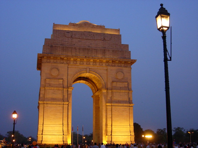 India Gate by bijoy mohan, on Flickr