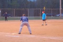 soft tennis(0.0), pitch(0.0), softball(1.0), sports(1.0), college softball(1.0), college baseball(1.0), team sport(1.0), baseball field(1.0), infielder(1.0), bat-and-ball games(1.0), ball game(1.0), baseball positions(1.0), baseball(1.0), athlete(1.0),