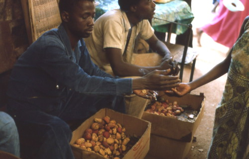 Market in Kédougou, Sénégal (West Africa)