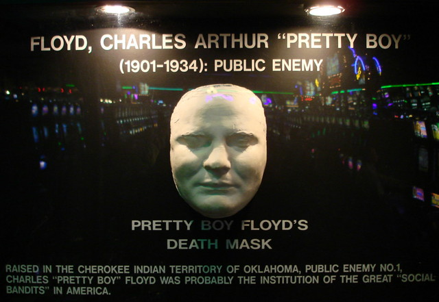Pretty Boy Floyd Death Mask | anthony terranova | Flickr