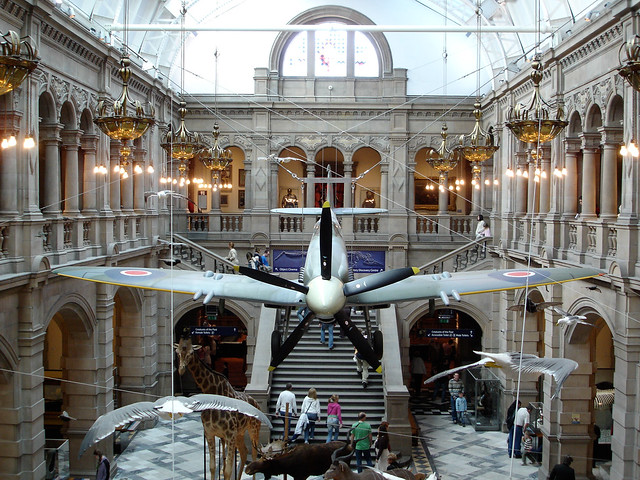 Kelvingrove Art Gallery and Museum by CC user Ian Dick on Flickr