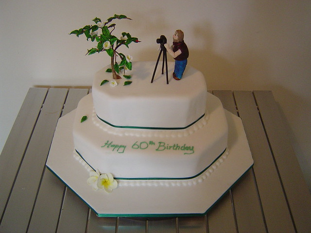 Cake Ideas For Dads Birthday : Dad s 60th Birthday cake Flickr - Photo Sharing!
