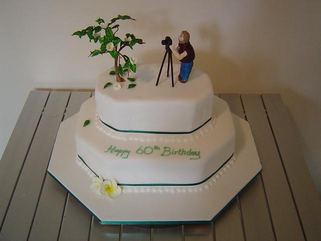 Birthday Cake Designs For Dad : Dad s 60th Birthday cake Flickr - Photo Sharing!
