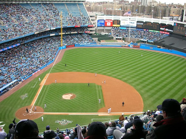 Yankees Baseball Diamond