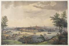 View of the City of St. John, New Brunswick from Sandpoint, Carleton / Vue de la ville de Saint John (Nouveau-Brunswick) de Sand Point, Carleton
