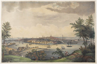 View of the City of St. John, New Brunswick from Sandpoint, Carleton / Vue de la ville de Saint John (Nouveau-Brunswick) de Sand Point, Carleton