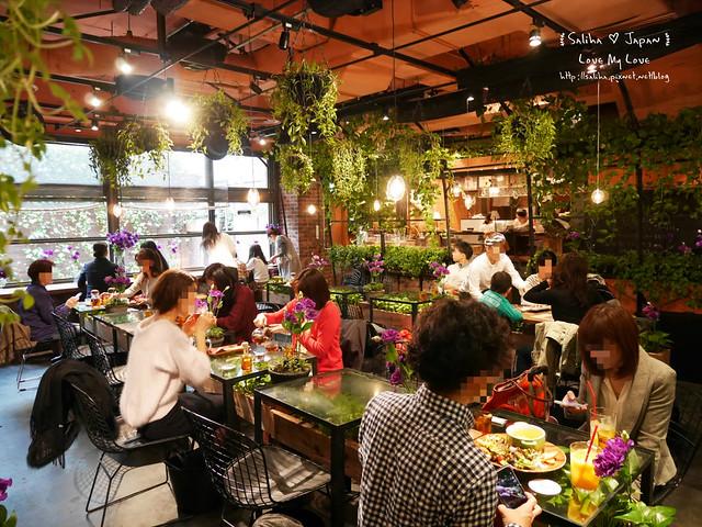 日本東京表參道花店咖啡館Aoyama Flower Market Tea House青山店  (7)