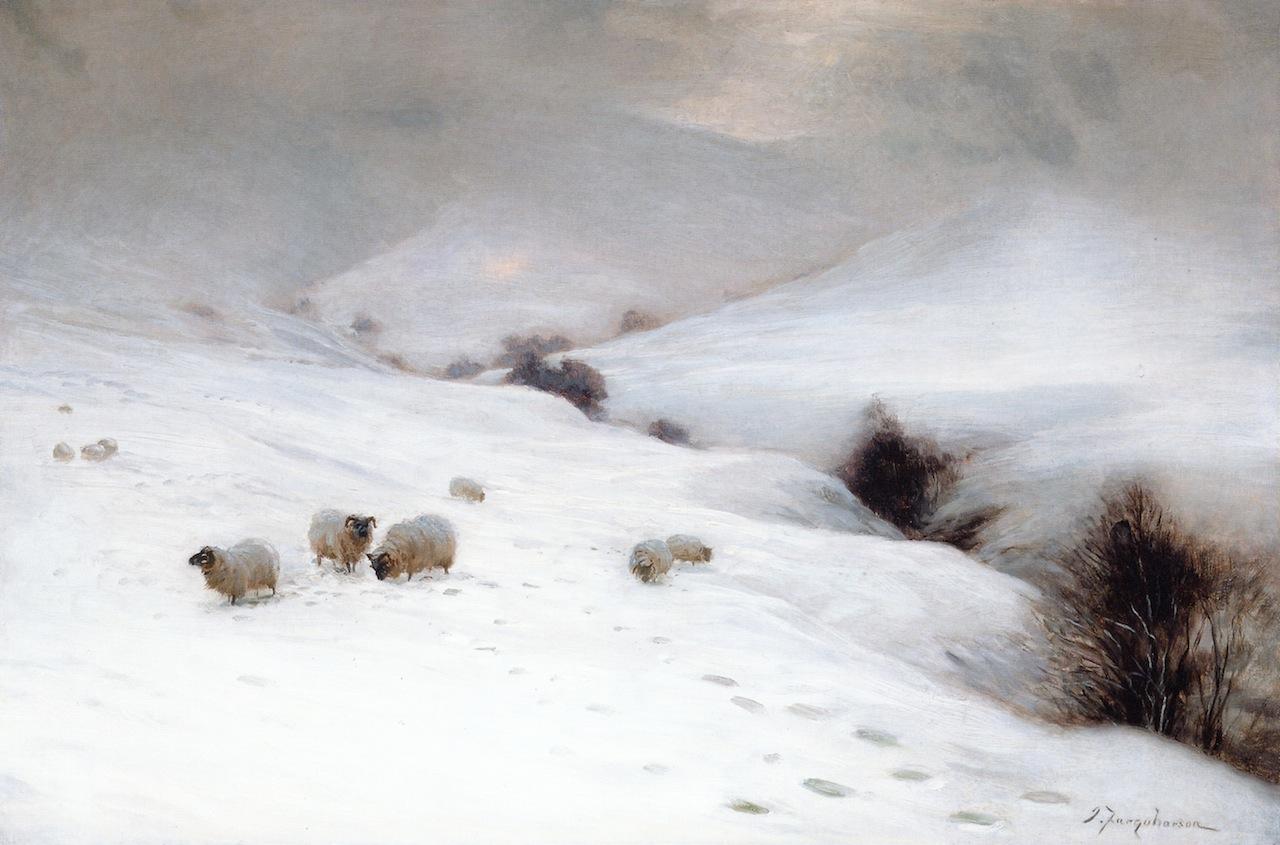 Sun Pepped o'er the Hill by Joseph Farquharson