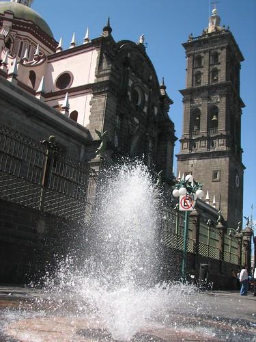 Cúpula de la Catedral de Puebla