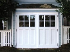 Phinney Ridge Carriage House Door, REAL Out-Swing - Seattle Carriage House Door