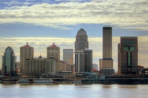 oneaday skyline day waterfront cloudy photoaday louisville hdr michaelgraves pictureaday belleoflouisville project365 morethanderby galthouse nationalcitytower humanabuilding project365020907 aegontower jeffersonclub