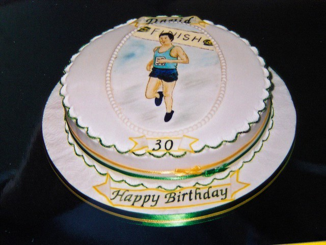 Birthday Cake Pictures For Runners : Birthday cake For a Marathon runner By: abbietabbie ...