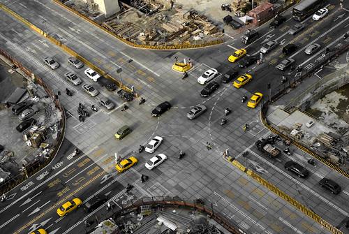 [フリー画像素材] 建築物・町並み, 道路・道, 風景 - 台湾 ID:201201051200