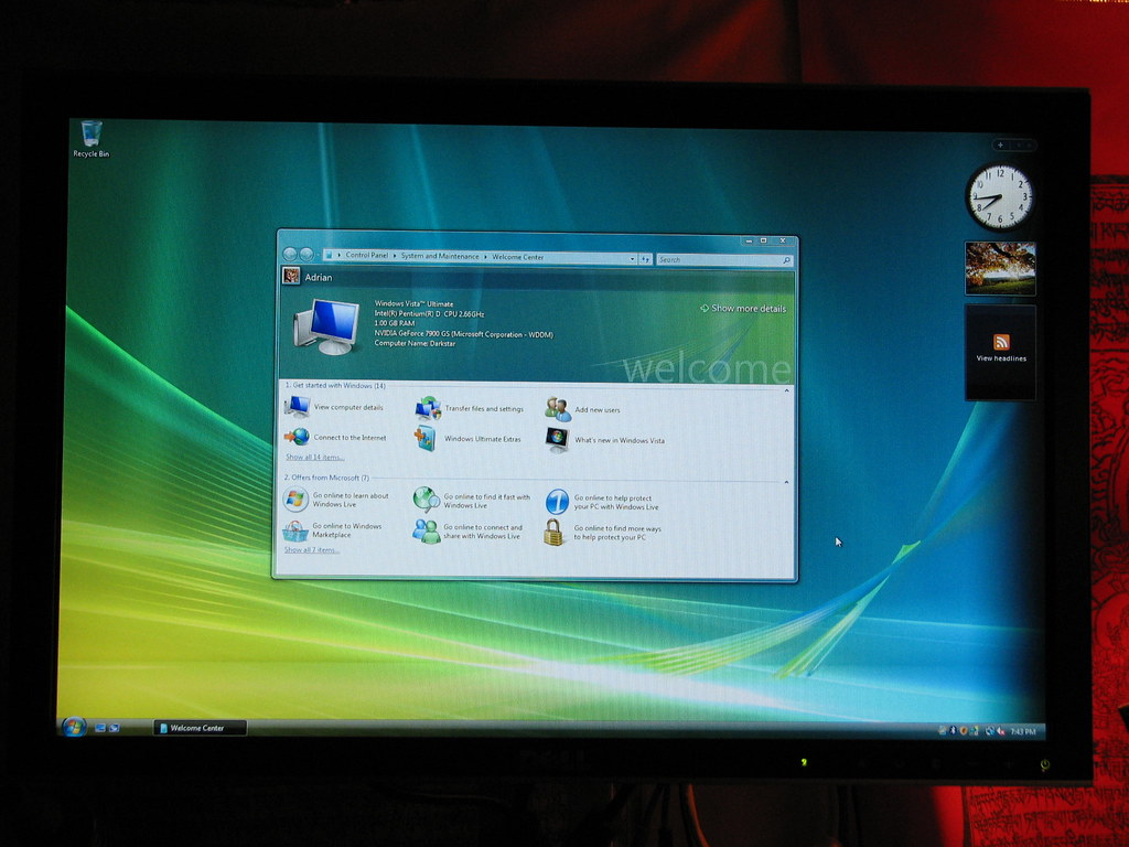 Vista Ultimate Desktop