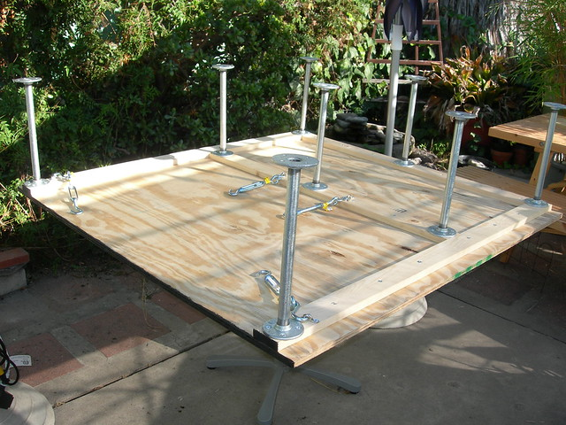 Platform assembled