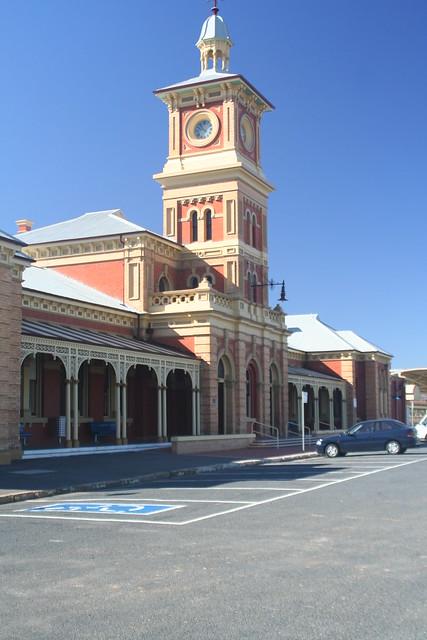 Header of Albury Railway Station