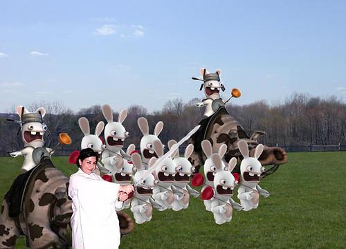 Onward my faithful bunnies!