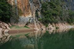Nam Ou Reflections - Nong Khiaw, Laos