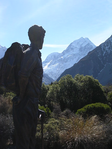 Sir Edmund Hilary - Mount Cook