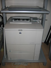 Our network printer and scanner