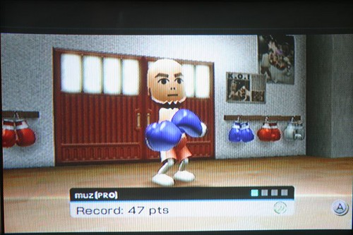 Wii Sports Training - Working The Bag