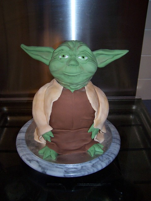 Yoda Cake Flickr Photo Sharing