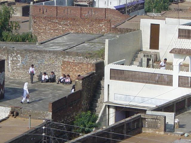 A VILLAGE SCHOOL IN JALALPUR SHARIF - District Jhelum, Punjab - PAKISTAN