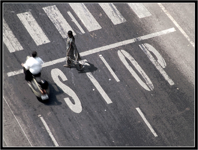 stop...or don't stop..