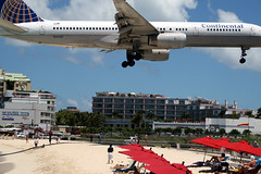 St. Martin Airport.  Really.  Not Photoshopped.