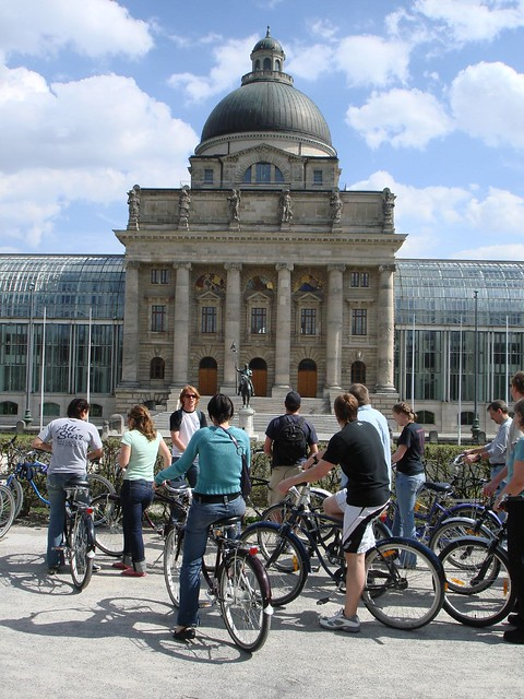 Bike tour, Munich