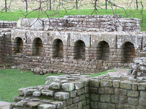 The apodyterium of the baths