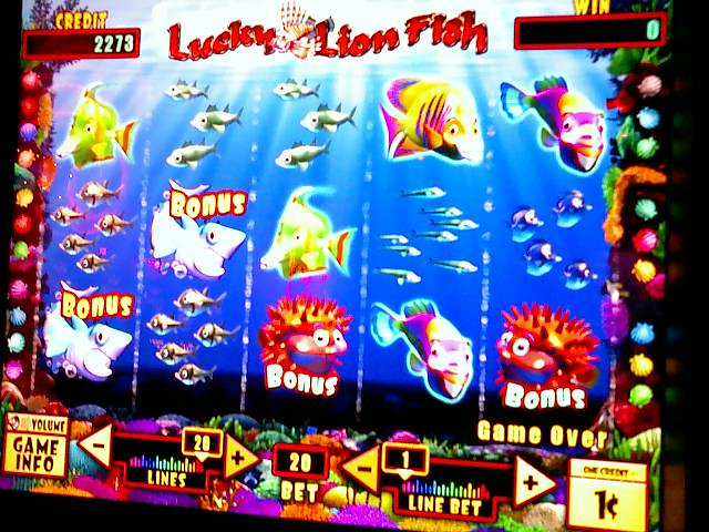 Lucky Lion Fish Slot Game