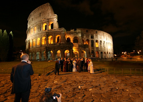Colosseum Wedding by Dan Barak