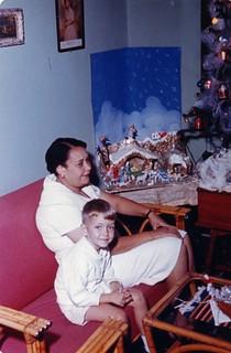 Davey and Rosalina, Christmas 1961, Caracas