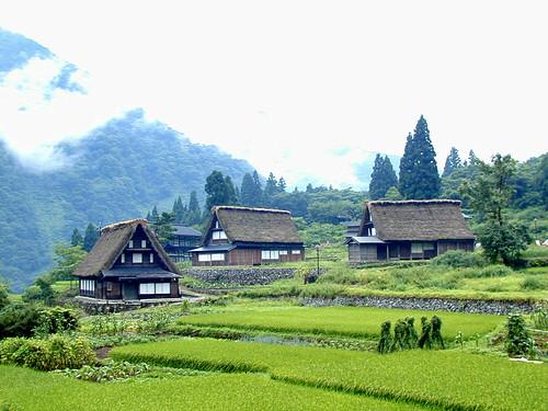 Aikura village, Gokayama