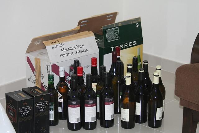ケース販売のワイン