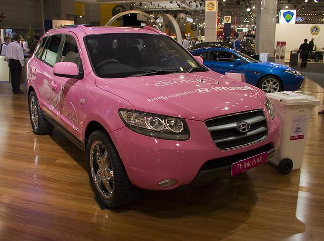pink hyundai